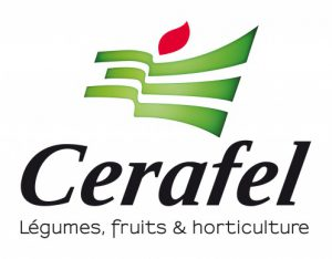 Logo Cerafel, légumes, fruits & horticulture